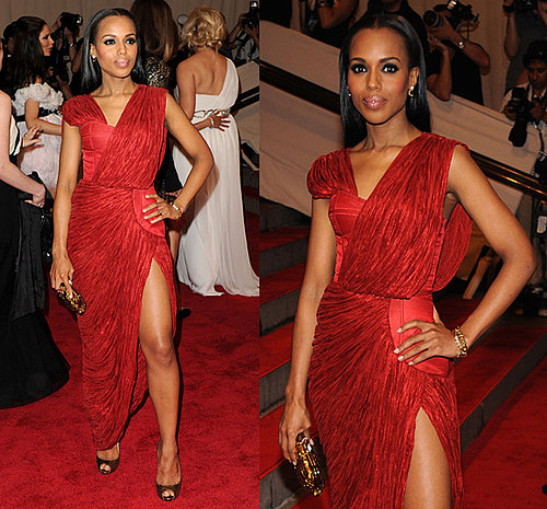 Kerry Washington at 2010 Costume Institute Gala