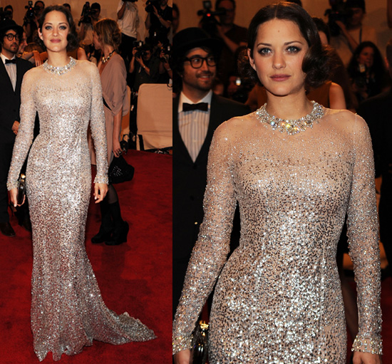 Marion Cotillard at 2010 Costume Institute Gala 2010-05-03 19:05:20