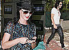 Photos of Katy Perry at LAX Airport and Russell Brand at Their Home in Los Angeles