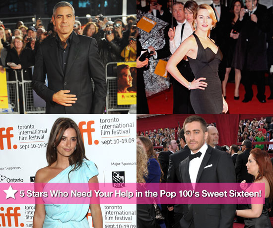 5 Stars Who Need Your Help in the PopSugar 100&#039;s Sweet Sixteen!