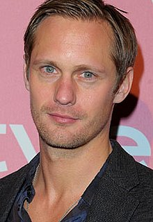 Pictures of True Blood's Alexander Skarsgard Leaving Lunch at Joan's on Third in LA