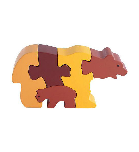 Bear and Cub Puzzle