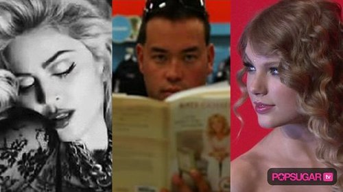 New Madonna Photo Shoot, Video of Jon Gosselin Reading Book by Kate, and Taylor Swift at Time Magazine Event 2010-05-05 15:17:18