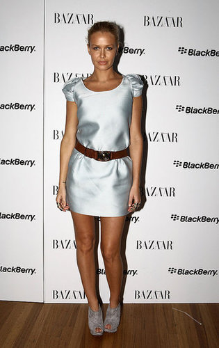 Photos from Harper's Bazaar and BlackBerry's White Bold Party at RAFW 2010