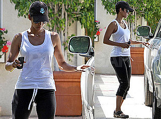 Pictures of Halle Berry Leaving Her Workout in LA Amid Breakup Stories From Gabriel Aubry