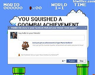 Daily Tech: Has Facebook Totally Ruined Super Mario Bros.?