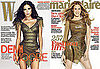 Sarah Jessica Parker Wears Balmain on Cover of Marie Claire and Demi Moore Wears Balmain on Cover of W 2010-05-06 13:00:22