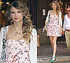 Taylor Swift Wears Rebecca Taylor Dress in NYC