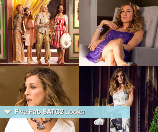 Five Fab Carrie Looks from Sex and the City 2