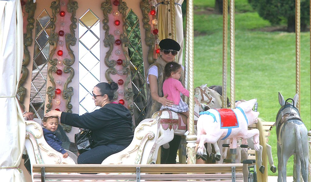 Pictures of Jennifer Lopez and Babies