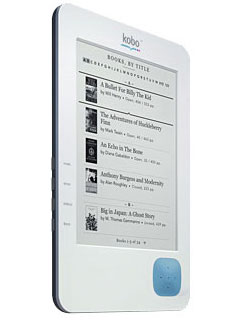 Photos of the Kobo eReader