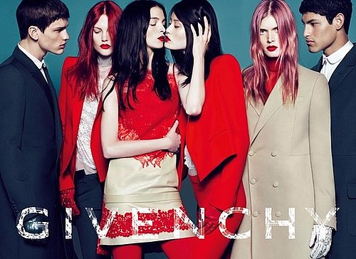 2010 Fall Givenchy Ad Features Transgender Model Lea T.