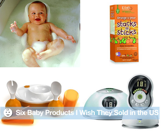 Six Baby Products I Wish They Sold in the US