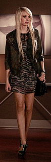 Jenny Humphrey in Current/Elliott Studded Jacket on Gossip Girl