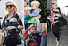 Pictures of Possibly Pregnant Gwen Stefani Out in LA With Sons Zuma And Kingston