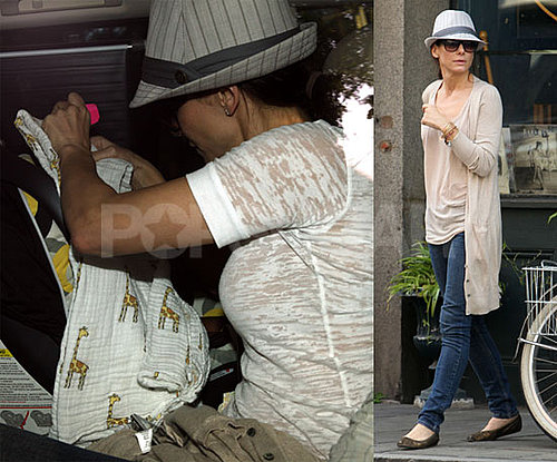 Pics of Sandra Bullock with Baby Louis on Mother's Day!