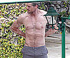 Slide Picture of Eric Dane Shirtless in Italy