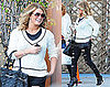 Pictures of Jessica Simpson Out to Lunch in LA
