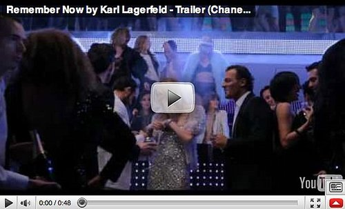 Karl Lagerfeld Remember Now Movie Trailer
