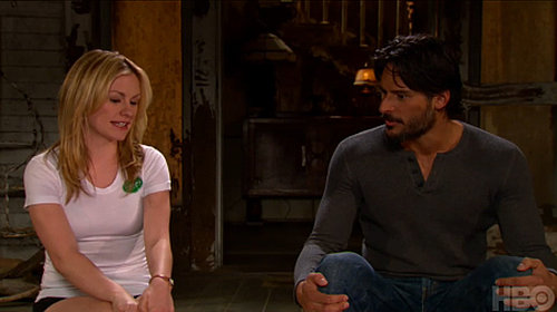 True Blood Sneak Peek Video From the Set Featuring Sookie, Eric, Bill, and Alcide