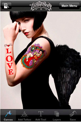 Tattoo iPhone App Review