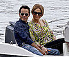 Slide Picture of Jennifer Lopez and Marc Anthony on Yacht in Nice