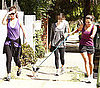 Guess Which Celebrity Went For a Walk With Her Friends?