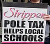 New York Strippers Propose Pole Tax For Education