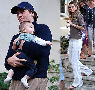 Pictures of Tom Brady, Gisele Bundchen and Ben Brady