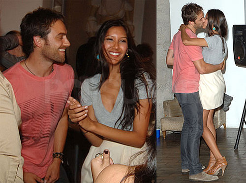Pictures of Stuart Townsend Kissing Mystery Girl