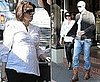 Dannii Minogue Pregnant Pictures With Kris Smith Out in Sydney