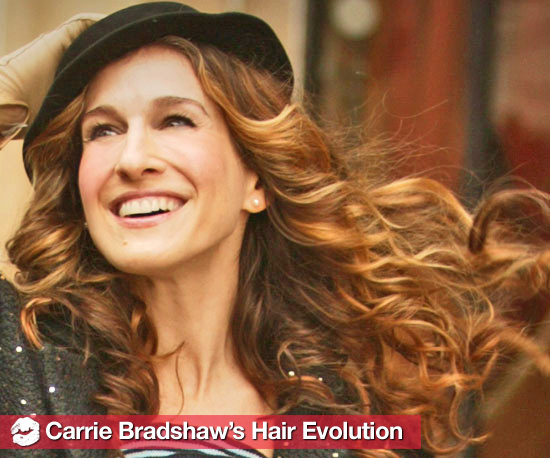 Carrie Bradshaw's Hair Evolution