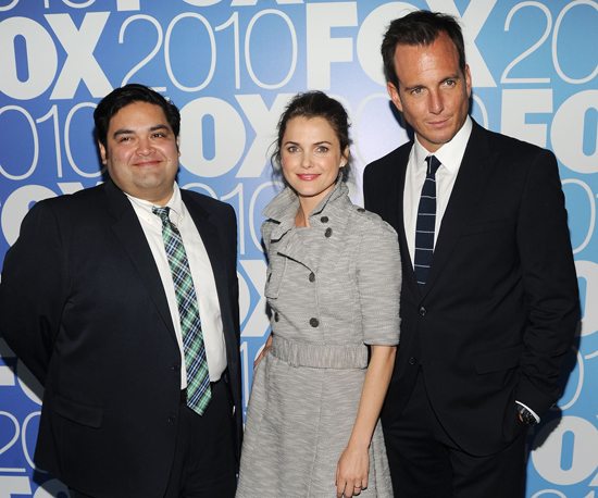 Keri Russell and Will Arnett