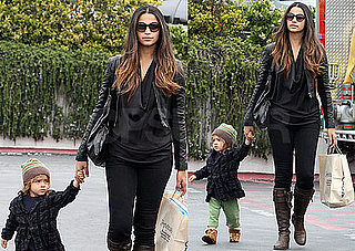 Pictures of Camila Alves and Levi Shopping in Malibu