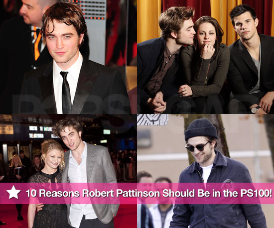 Top 10 Reasons Robert Pattinson Should Be in the PopSugar 100 Finals!