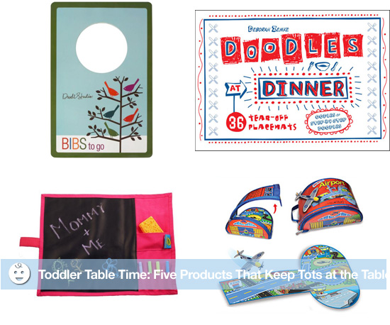 Toddler Table Time: Five Products That Keep Tots at the Table