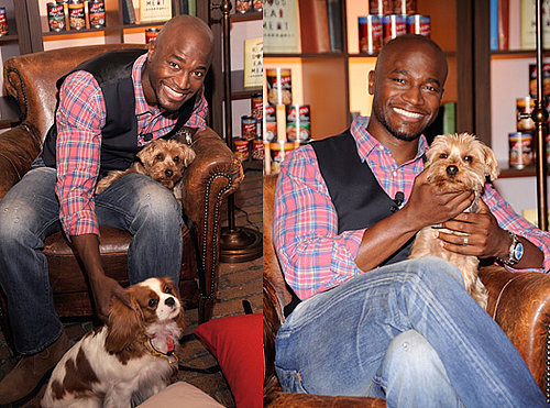 Taye Diggs at Real Dogs Eat Meat Launch