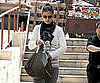 Slide Picture of Katie Holmes Going to Dance Studio in LA