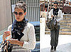 Pictures of Katie Holmes on Her Way Into a Dance Class in LA