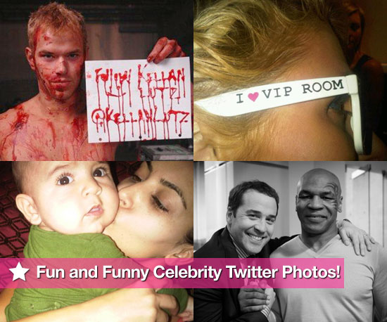 Kellan Lutz, Paris Hilton, Kim Kardashian, and Mike Tyson in This Week's Fun and Funny Celebrity Twitter Photos!