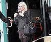 Slide Picture of Gwen Stefani at Sushi Restaurant in LA