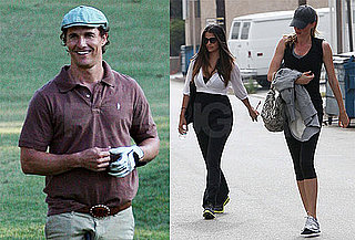 Pictures of Matthew McConaughey Golfing in LA 2010-05-19 13:30:12