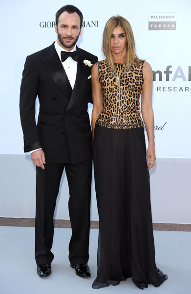 Tom Ford and Carine Roitfeld make a dangerous twosome. Watch out!