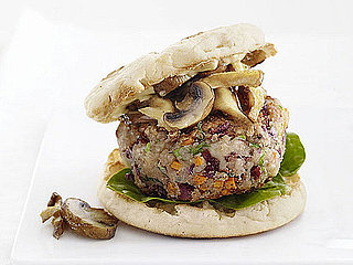 Meatless Recipe For Veggie Burgers With Mushrooms