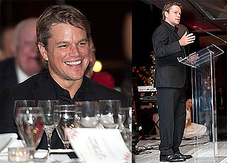 Pictures of Matt Damon Accepting an Award From Save the Children 2010-05-22 07:00:00