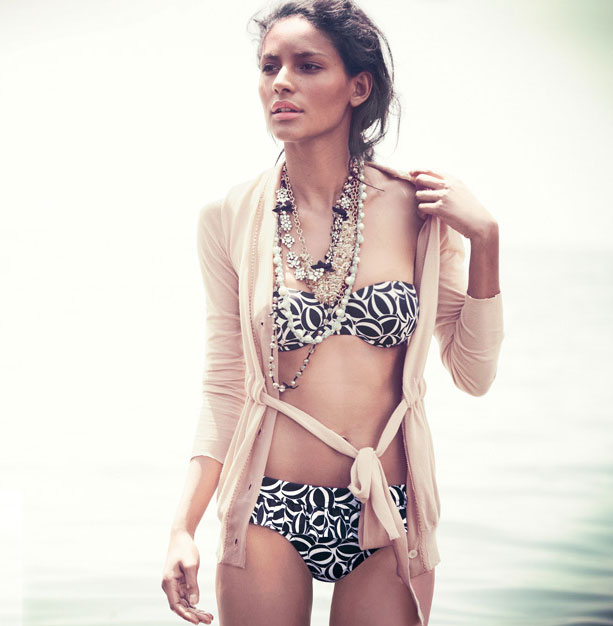 Splish Splash in J.Crew's Swimwear Collection