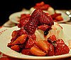 Pictures of Panna Cotta WIth Roasted Thyme Strawberries