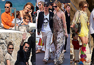 Pictures of Jennifer Lopez With Twins Max and Emme in Cannes