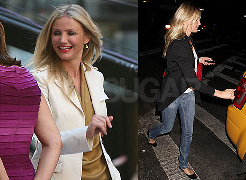 Pictures of Cameron Diaz in NYC Visiting The Today Show Promoting Shrek