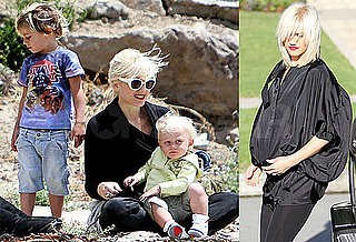 Pictures of Gwen Stefani Playing With Zuma and Kingston in LA